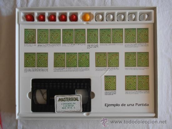 Juegos de mesa: JUEGO DE MESA MASTERGOAL ESTRATEGIA FUTBOL - Foto 5 - 37613680