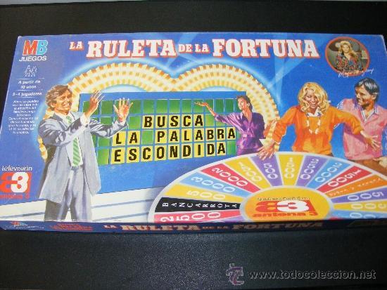 1 Antiguo Juego Mesa Anos 90 La Ruleta De La Comprar Juegos De