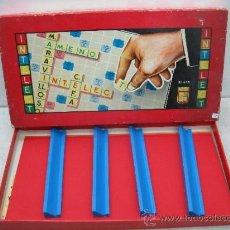 Juegos de mesa: JUEGO EDUCATIVO DE MESA INTELECT. Lote 37765505