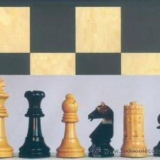 Juegos de mesa: CONJUNTO DE AJEDREZ DE MADERA SEVILLA 87 J-23. PIEZAS FD-23 Y TABLERO TNS-48E. Lote 37778508