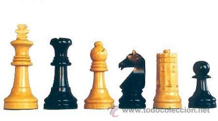 Juegos de mesa: Conjunto de ajedrez de madera Sevilla 87 J-23. Piezas FD-23 y Tablero TNS-48E - Foto 2 - 37778508