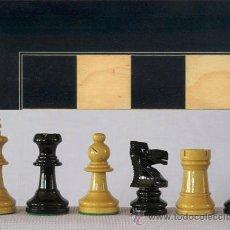 Juegos de mesa: CONJUNTO DE AJEDREZ DE MADERA STAUNTON J-26. PIEZAS FS-3AN Y TABLERO TAN-1. Lote 37806500