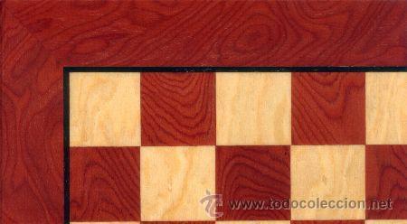 Juegos de mesa: Chess. Conjunto de ajedrez de madera Staunton Natural Rojo J-35. Piezas FS-3/AR y Tablero TAR-1 - Foto 2 - 37853512