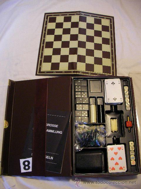 Antiguo Set Magnetico Juegos Diversos Cartas Comprar Juegos De