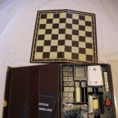 Juegos de mesa: ANTIGUO SET MAGNETICO JUEGOS DIVERSOS (CARTAS, DOMINO, AJEDREZ, DAMAS, DADOS..). Lote 37925681