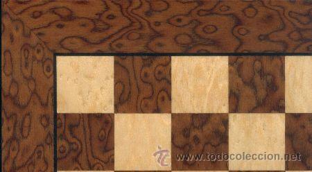 Juegos de mesa: Conjunto de ajedrez de madera Staunton Natural/Nogal J-38. Piezas FS-3 y Tablero TAA-1 - Foto 2 - 37865321