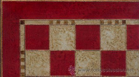 Juegos de mesa: Conjunto de ajedrez de madera Corona policromado rojo J-21/R. Piezas FD-22/R y Tablero TPOL-40R - Foto 2 - 37867611