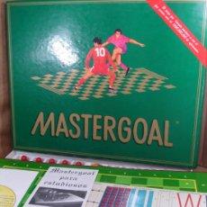 Juegos de mesa: ANTIGUO JUEGO DE MESA FUTBOL - MASTERGOAL GOLADMIN REF: 0001 AÑO 1992 ¡¡¡ COMO NUEVO¡¡¡. Lote 38024895