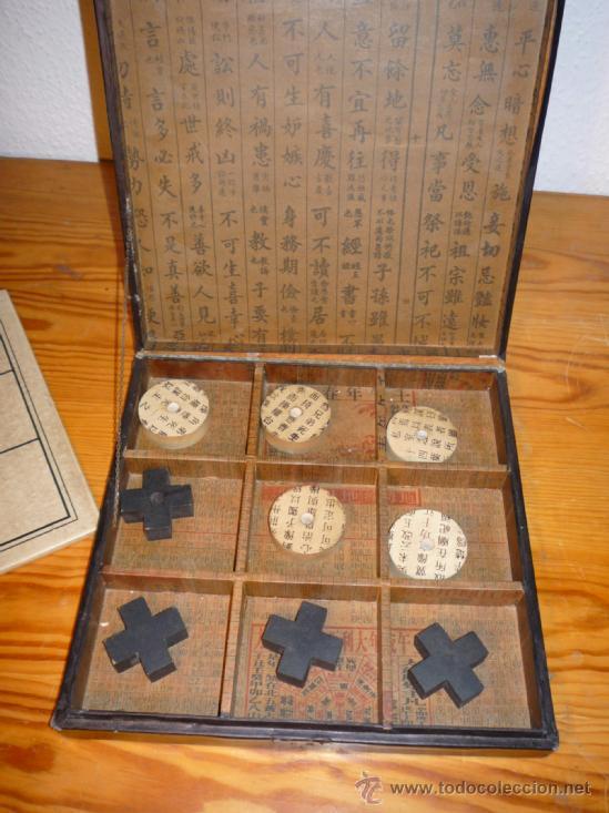 Antiguo Tres En Raya Chino Comprar Juegos De Mesa Antiguos En