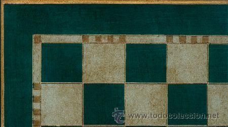 Juegos de mesa: Chess. Conjunto de ajedrez de madera Royal verde/plata J-15/V. Piezas FD-12/V y Tablero TPOL-50V - Foto 2 - 38075251