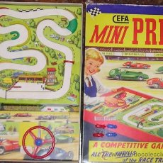 Juegos de mesa: JUEGO DE CARRERAS MINI PRIX CEFA REF. 581. Lote 38075711