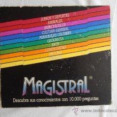 Juegos de mesa: JUEGO MAGISTRAL CON 10.000 PREGUNTAS. Lote 38196217