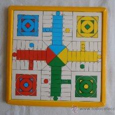 Juegos de mesa: PARCHIS OCA MARCO AMARILLO CARTON TAMAÑO PEQUEÑO. Lote 38201466