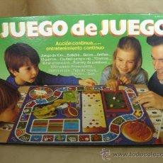 Juegos de mesa: ANTIGUO JUEGO DE MESA - JUEGO DE JUEGOS MB AÑO 1986 ¡¡ MUY COMPLETO ¡¡¡. Lote 144035564