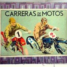 Juegos de mesa: CARRERA DE MOTOS - JUEGO DE MESA DE LOS AÑOS 30' Y 40'. Lote 38519732