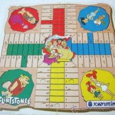 Juegos de mesa: PARCHIS LOS PICAPIEDRAS - PUBLICIDAD RAFAEL CABANES - FABRICA DE CALZADOS ELCHE. Lote 66249063