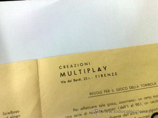 Juegos de mesa: CREAZIONI MULTIPLAY,- FIRENZE, ITALIA. ANTIGUO ESTUCHE DE JUEGOS DE MESA VARIADOS. - Foto 12 - 38656771