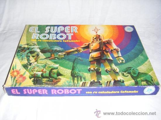 SUPER ROBOT - JUEGO DE MESA EFA (Juguetes - Juegos - Juegos de Mesa)