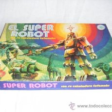 Juegos de mesa: SUPER ROBOT - JUEGO DE MESA EFA. Lote 38720576