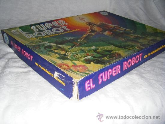 Juegos de mesa: SUPER ROBOT - JUEGO DE MESA EFA - Foto 5 - 38720576