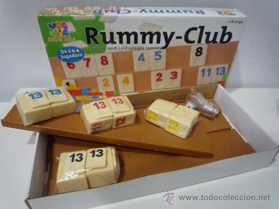 Rummy Club Juego De Mesa Comprar Juegos De Mesa Antiguos En