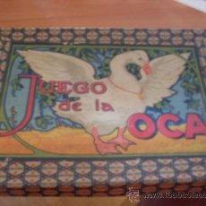 Juegos de mesa: EL JUEGO DE LA OCA . ANTIGUO (JUE-A). Lote 38727278