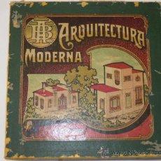 Juegos de mesa: ANTIGUO Y PRECIOSO JUEGO DE ARQUITECTURA MODERNA DE AGAPITO BORRAS -CONSTRUCCION MODERNISTA. Lote 38746553