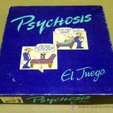 Juegos de mesa: PSYCHOSIS, RARO JUEGO DE MESA MB, JUEGO DE PSICOLOGIA, EN SU CAJA ORIGINAL, COMPLETO. Lote 38818463