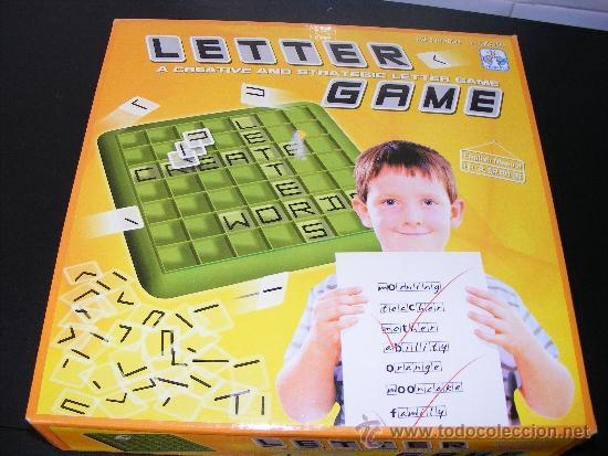 1 Juego Mesa El Juego De Las Letras Juego P Comprar Juegos De