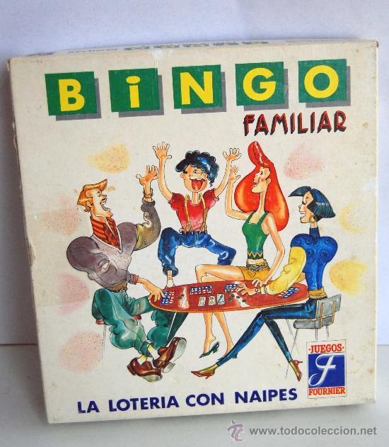 Bingo Familiar De Fournier La Loteria Con Naipe Comprar Juegos De