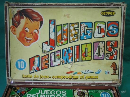 Juegos de mesa: Juegos Reunidos Geyper 10 - Foto 2 - 39049320