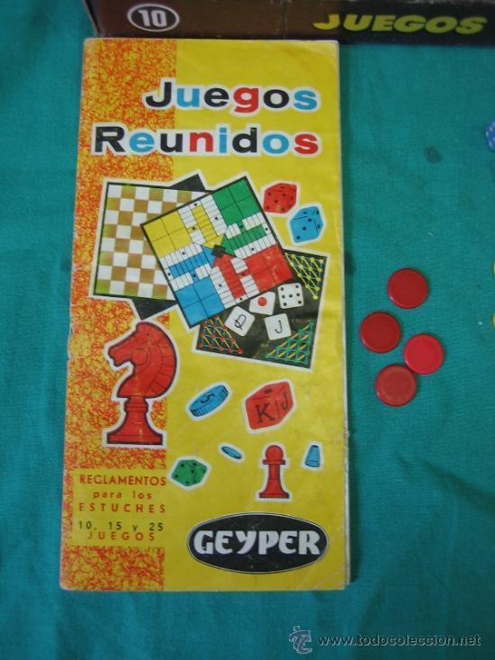 Juegos de mesa: Juegos Reunidos Geyper 10 - Foto 4 - 39049320