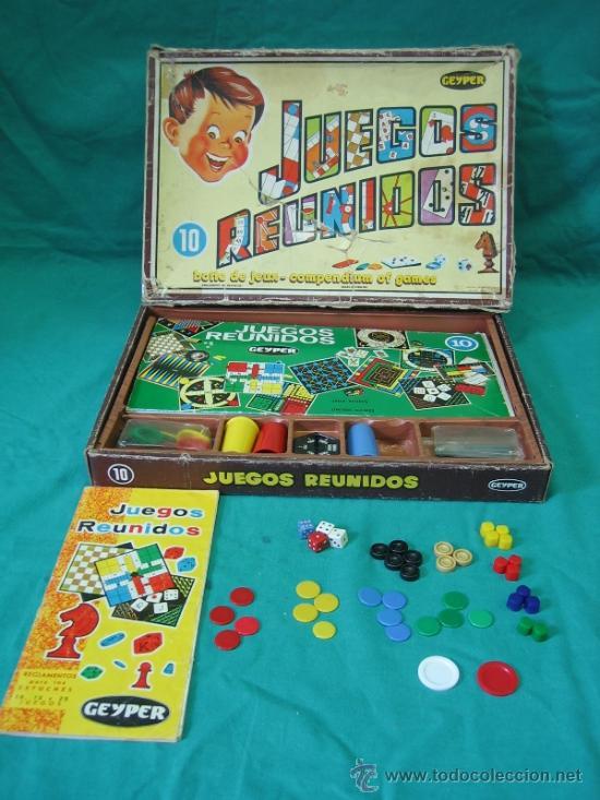JUEGOS REUNIDOS GEYPER 10 (Juguetes - Juegos - Juegos de Mesa)