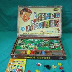 Juegos de mesa: JUEGOS REUNIDOS GEYPER 10. Lote 39049320