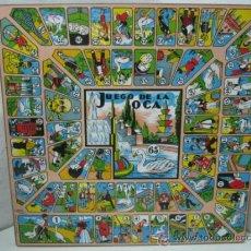 Juegos de mesa: TABLERO OCA Y PARCHIS JUEGOS CAYRO. Lote 233966295