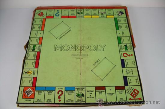 Monopoly Ingles De 1961 Property Trading Boar Comprar Juegos De