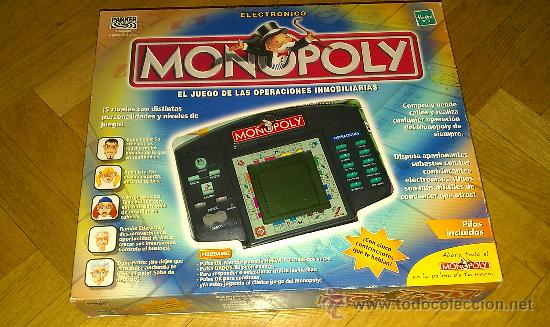 Juego Monopoly Maquina Juego Electronico Marca Comprar Juegos De