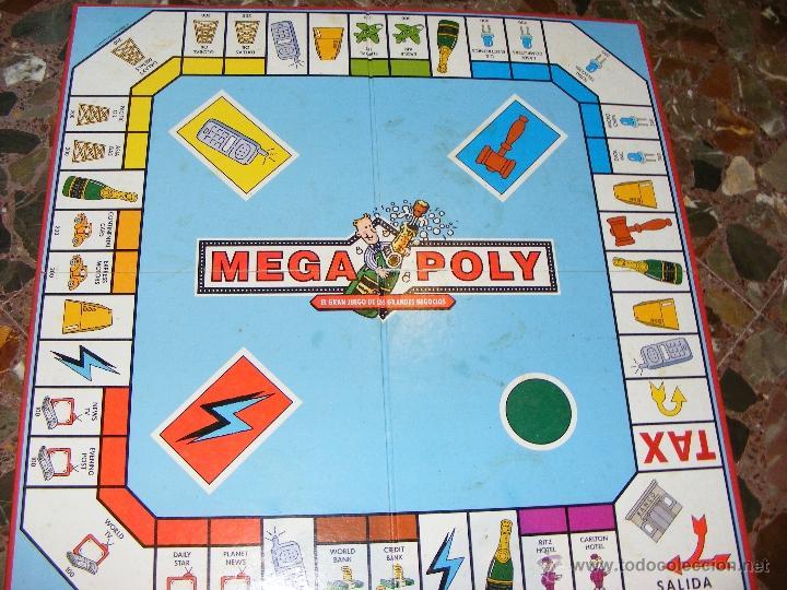 1 Antiguo Juego Mesa Anos 90 Mega Poly El Comprar Juegos De