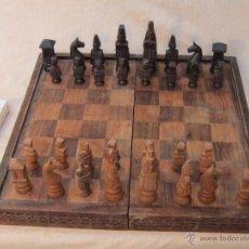 Juegos de mesa: AJEDREZ EN MADERA. Lote 39360149