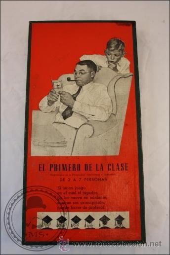 EL PRIMERO DE LA CLASE - JUEGO DE MESA - CRONE - FRANCISCO ROSELLÓ - BACELONA (Juguetes - Juegos - Juegos de Mesa)