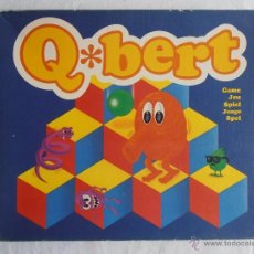 Juegos de mesa: JUEGO DE MESA Q BERT BASADO EN EL VIDEOJUEGO COMPLETO Q-BERT 1983. Lote 228088270