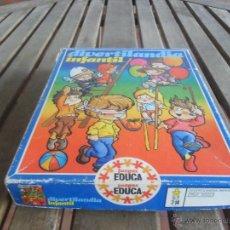 Juegos de mesa: JUEGO DIVERTILANDIA INFANTIL DE EDUCA. Lote 39508197