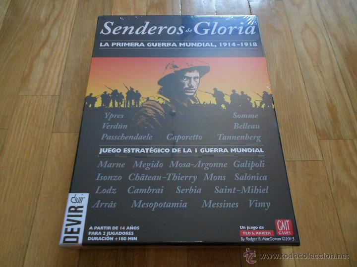 Juego Wargame Senderos De Gloria Devir 2013 Comprar Juegos De