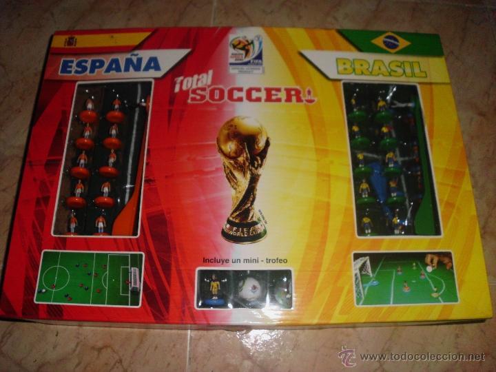 Juego De Futbol Total Soccer Espana X Brasil Fi Comprar Juegos De
