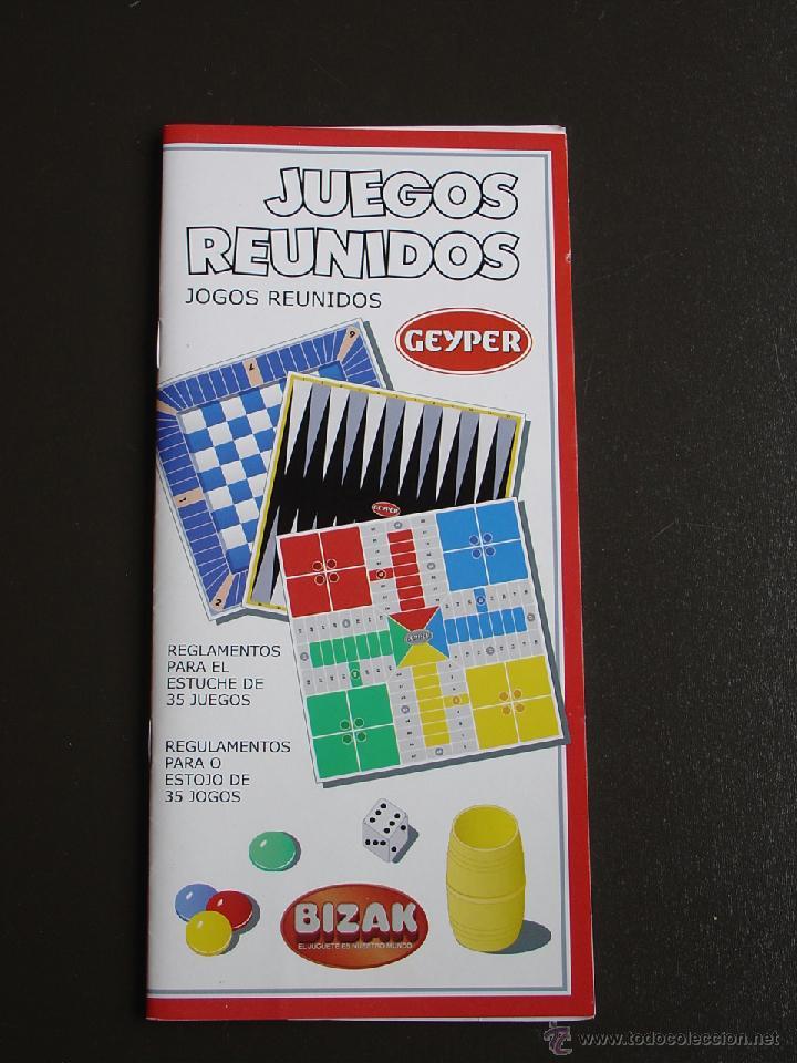 Instrucciones De Juegos Reunidos Geyper Comprar Juegos De Mesa