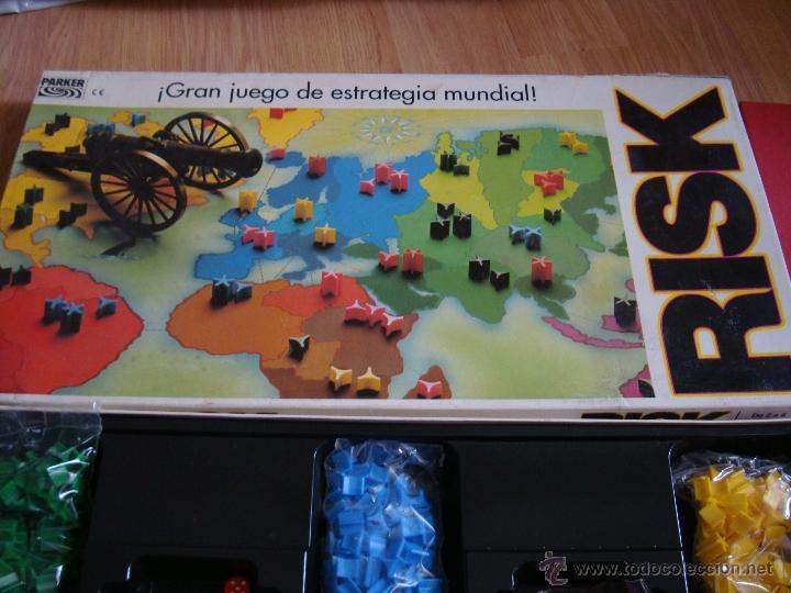Juego De Estrategia Militar Risk Completo Muy Comprar Juegos De