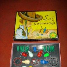 Juegos de mesa: ANTIGUO JUEGO *LA CUCARACHA* DE EXIN COMPLETISIMO DIBUJO TAPA CAJA DE SABATES. Lote 39814017