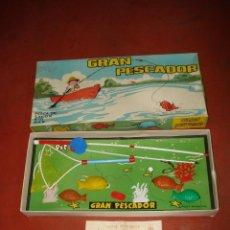 Juegos de mesa: ANTIGUO JUEGO * GRAN PESCADOR * DE JUGUETES PIT AÑO 1960-70S.. Lote 39814140