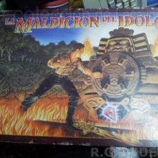 Juegos de mesa: LA MALDICION DEL IDOLO DE MB JUEGOS, AÑO 1990 2-4 JUGADORES. Lote 195246080
