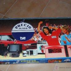 Juegos de mesa: JUEGO DE MESA EL PRECIO JUSTO!!! ANTIGUO!! COMPLETO.. Lote 39832333